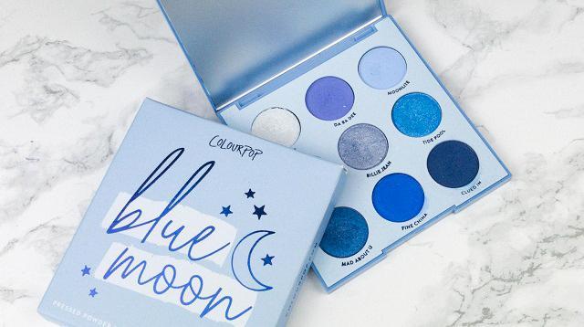 Colourpop Blue Moon Palette Review - 3