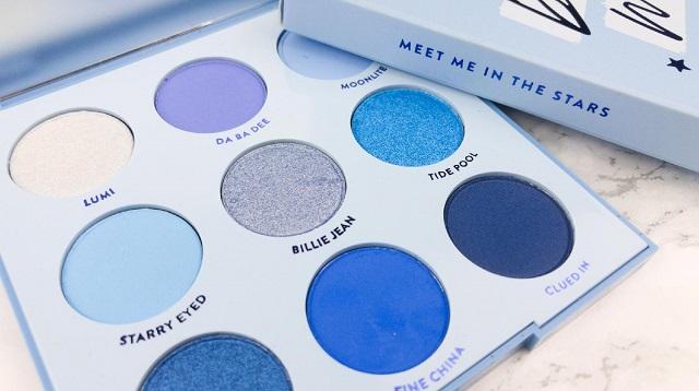 Colourpop - Blue Moon Palette Review - Innenleben
