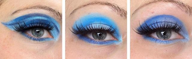 Colourpop - Blue Moon Palette Review - Looks