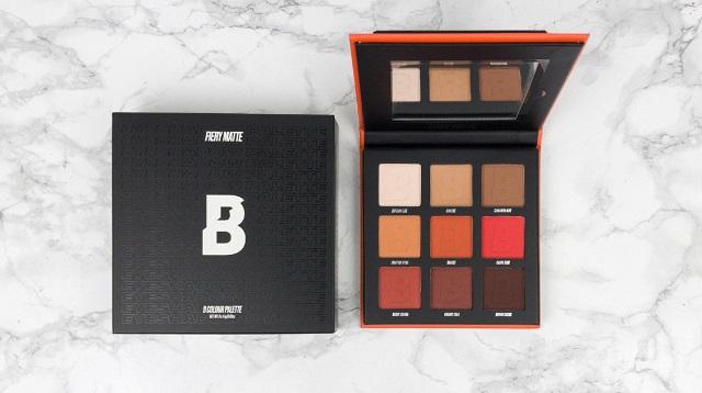 Beautybay Haul - September 2020 - Beautybay Fiery Palette