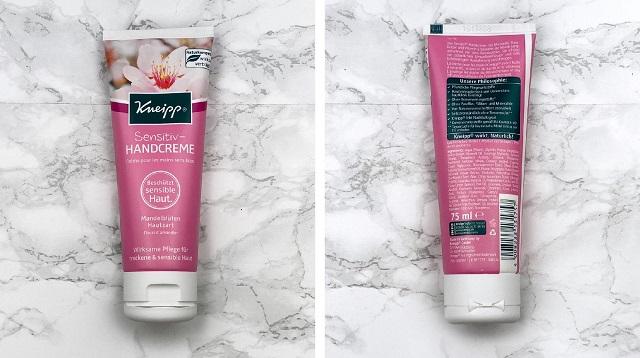 Kneipp Sensitiv Handcreme MAndelblüten Hautzart Review - Verpackung
