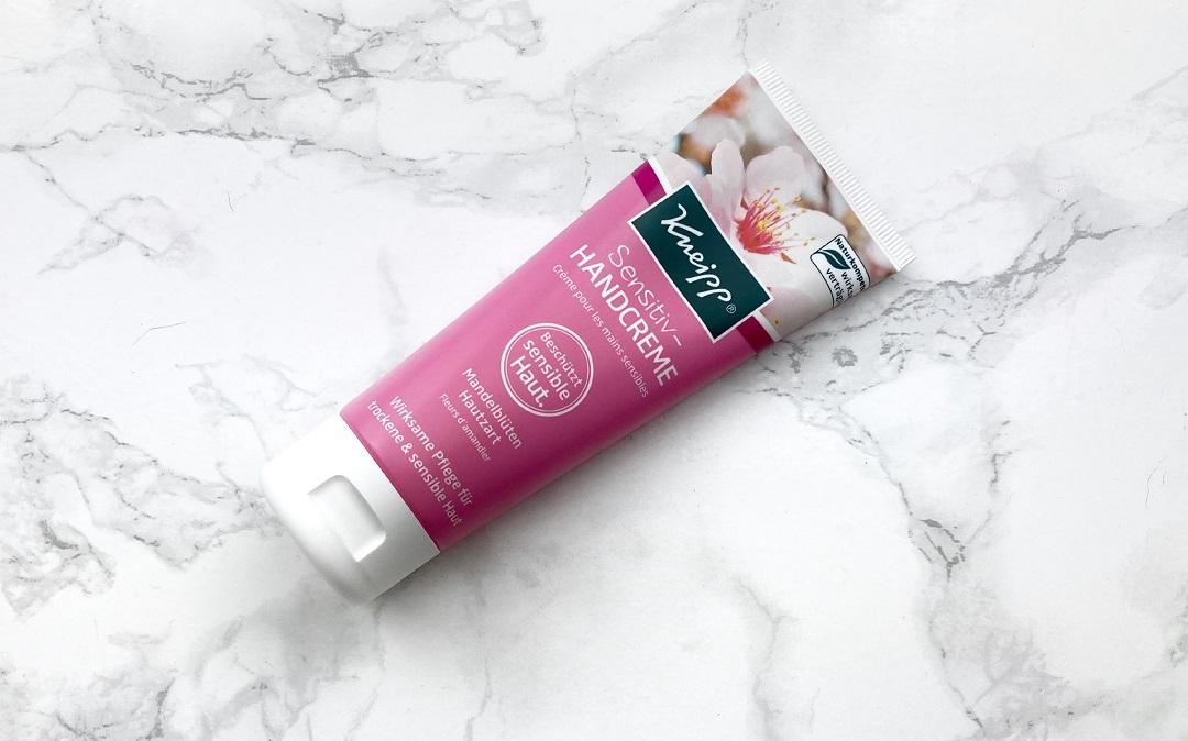 Kneipp Sensitiv Handcreme Mandelblüten Hautzart - Beitragsbild