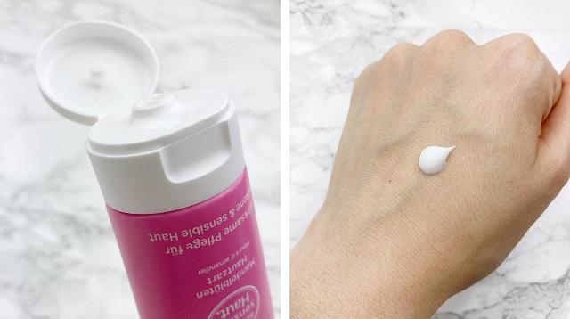 Kneipp Sensitiv Handcreme Mandelblüten Hautzart Review - Textur