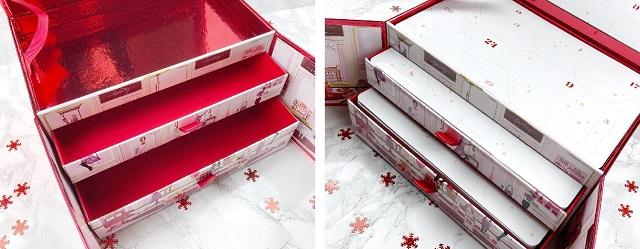 Douglas - Luxury Adventskalender Beauty - Unboxing - Schubladen