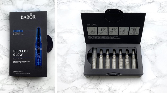Glossybox Dezember 2020 Unboxing - BARBOR - Perfect Glow Ampoule Concentrates