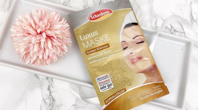 Glossybox Dezember 2020 Unboxing - Schaebens Luxury Maske Golden Glamour