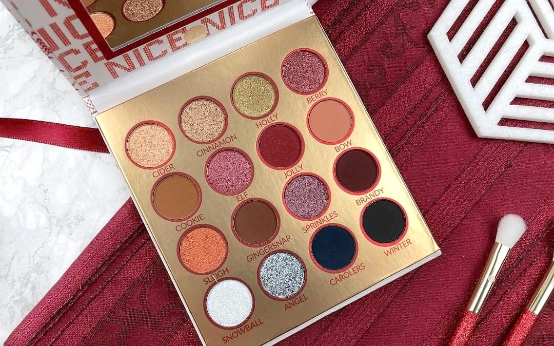 Bh Cosmetics Hohoho Weihnachtskollektion 2020 - Nice Palette Review - Beitragsbild