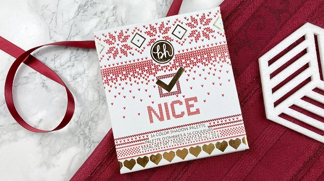 Bh Cosmetics Hohoho Weihnachtskollektion 2020 - Nice Palette Review - Verpackung