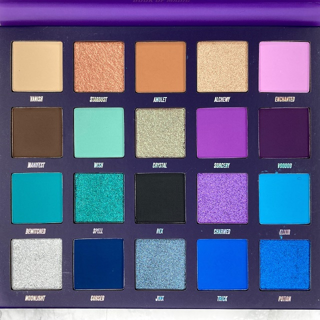 By Beauty Bay - Book of Magic Palette Review - Alle Farben