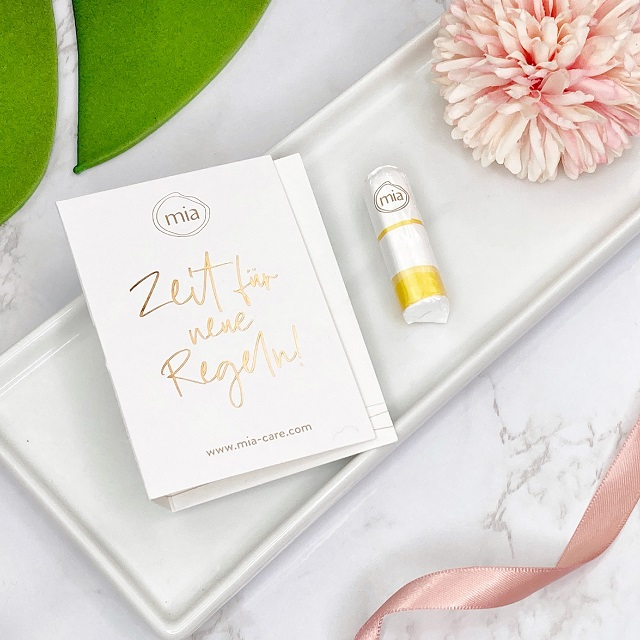 Glossybox Januar 2021 Unboxing - Mia Care Baumwoll Tampon