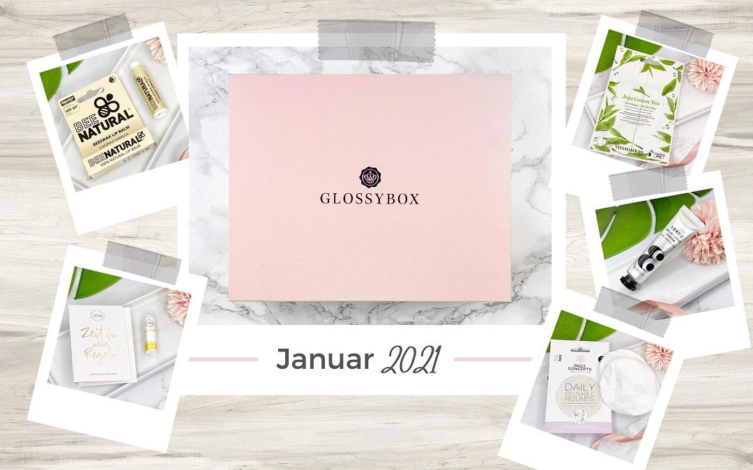 Unboxing - Glossybox Januar 2021 - Beitragsbild