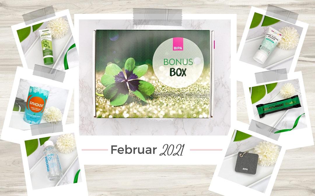 Bipa Bonusbox Februar 2021 Unboxing - Beitragsbild