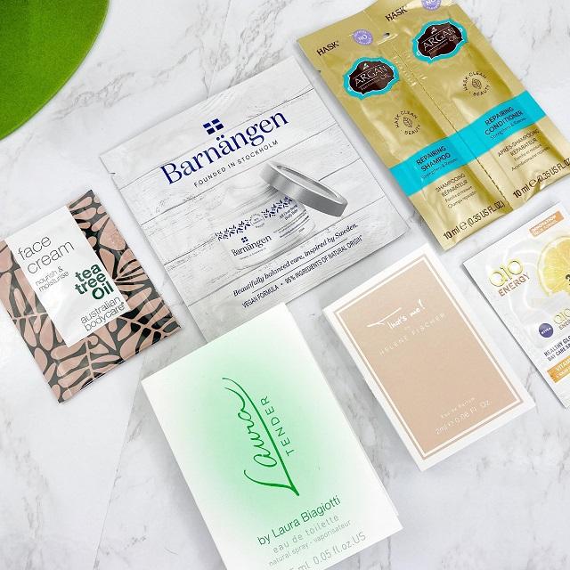 Bipa Bonusbox Februar 2021 Unboxing - Parfum und Pflegeproben