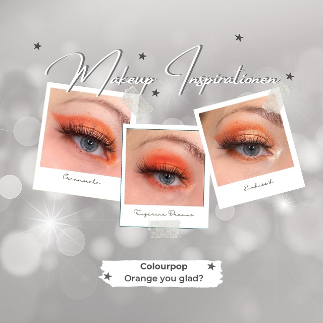 Colourpop - Orange you glad Palette - Looks