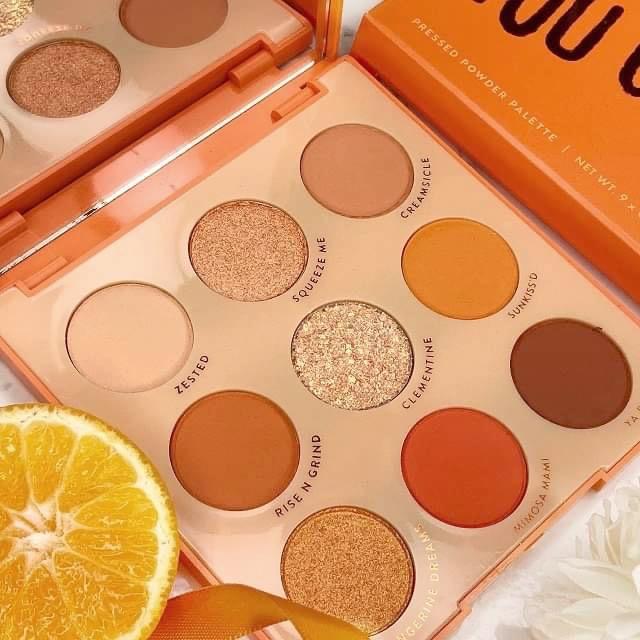 Colourpop - Orange you glad Palette - Review 2