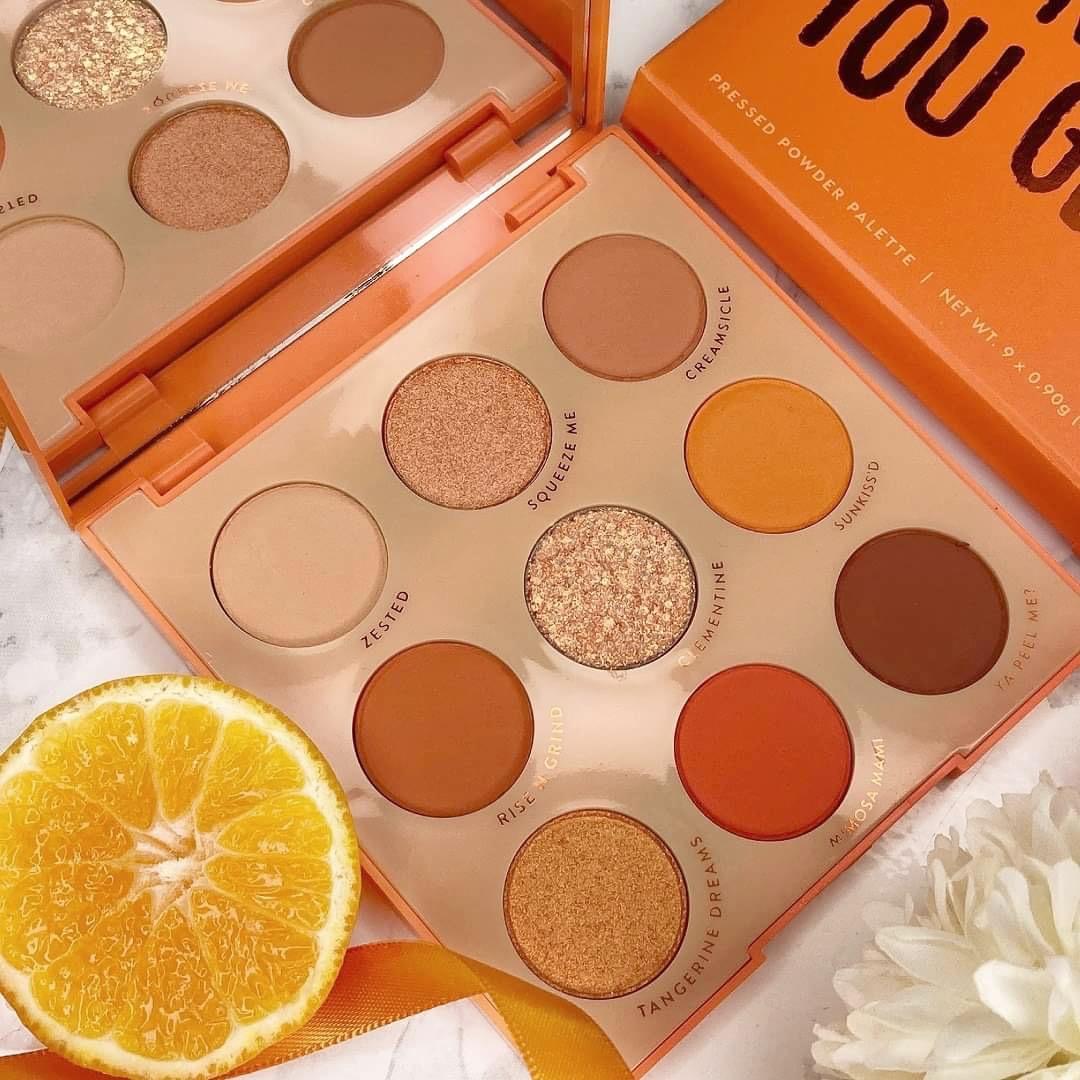 Colourpop - Orange you glad Palette - Review