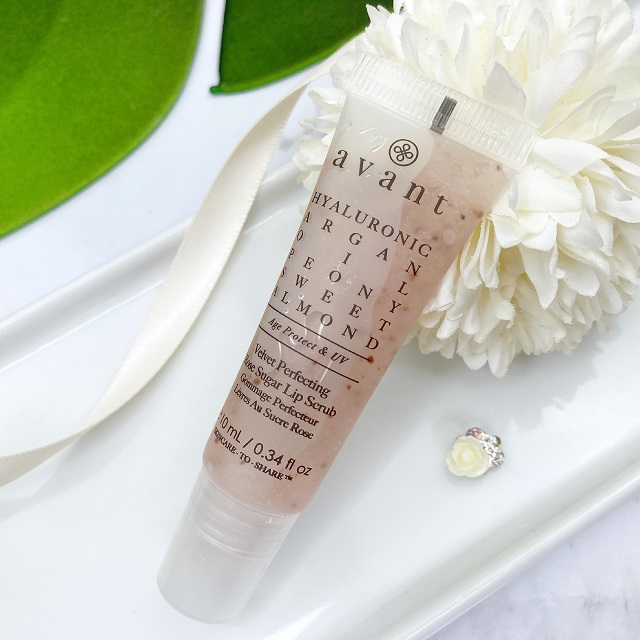 AVANT - Velvet Perfecting Rose Sugar Lip Scrub Review - 1