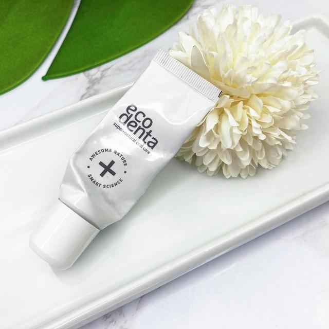 Aufgebraucht und aussortiert 02-2021 -Eco Denta Black whitening Zahncreme