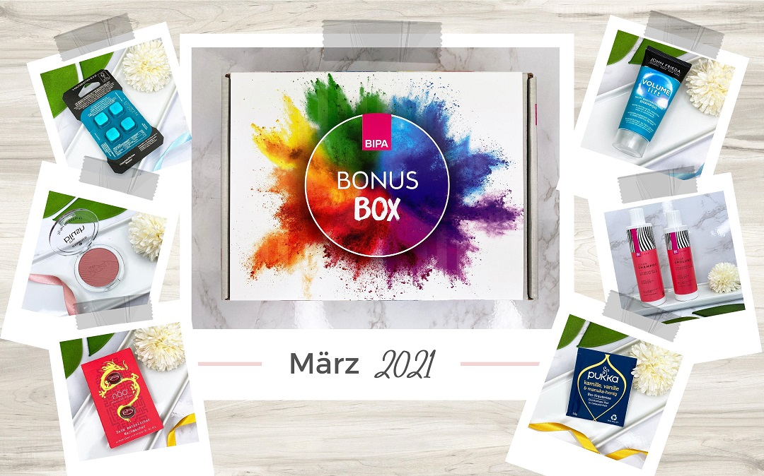 Bipa Bonusbox März 2021 Unboxing - Beitragsbild