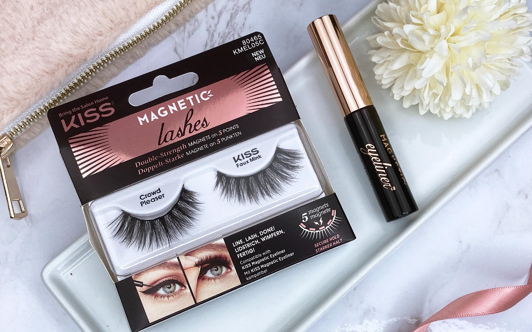 KISS - Faux Mink Magnetic Lashes Crowd Pleaser Review Erfahrung - Beitragsbild