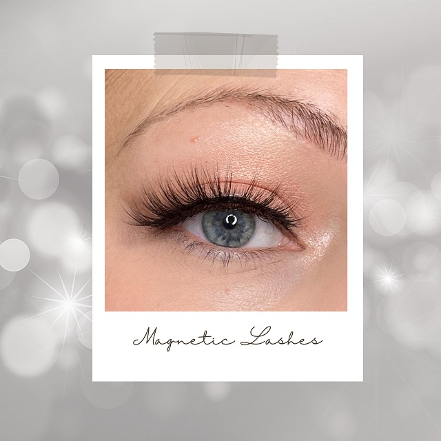 KISS - Faux Mink Magnetic Lashes Crowd Pleaser Review Erfahrung - Tragebild