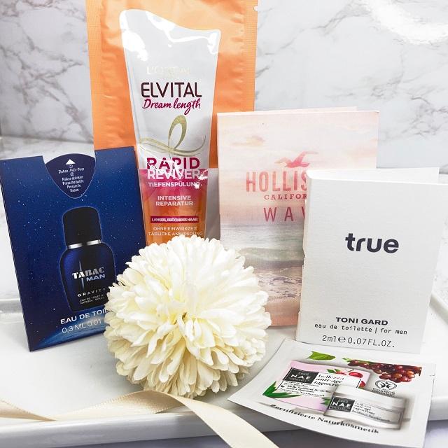 Bipa Bonusbox Juni 2021 Unboxing - Pflege und Parfumproben