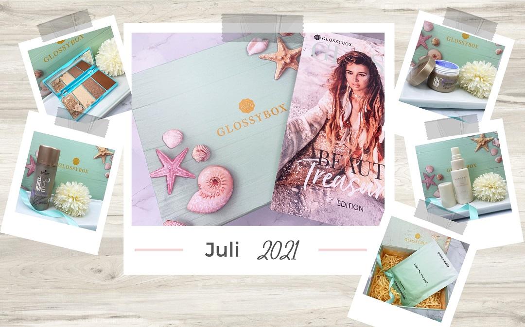Glossybox Juli 2021 - Beitragsbild 1