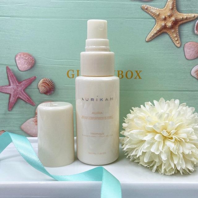 Glossybox Juli 2021 Unboxing - Aurikah Aura Body Fragrance Mist Tropique
