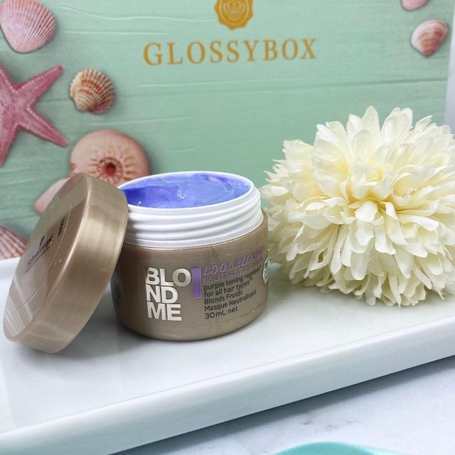 Glossybox Juli 2021 Unboxing - Schwarzkopf Blondme Neutralizing Mask
