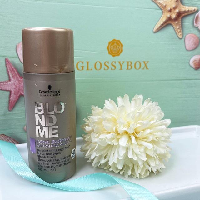 Glossybox Juli 2021 Unboxing - Schwarzkopf Blondme Neutralizing Shampoo