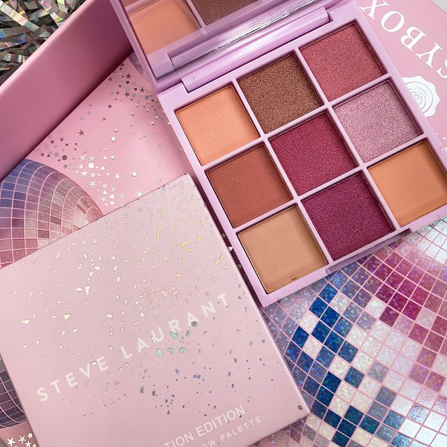 Glossybox - August 2021 Unboxing - Steve Laurant Celebration Edition Eyeshadow Palette