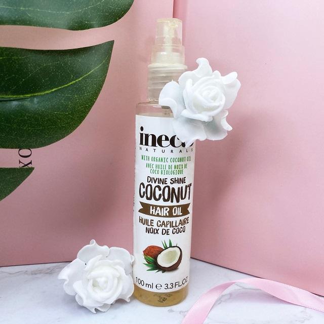Aufgebraucht & aussortiert 06-2021 - Inecto Coconut Hairoil