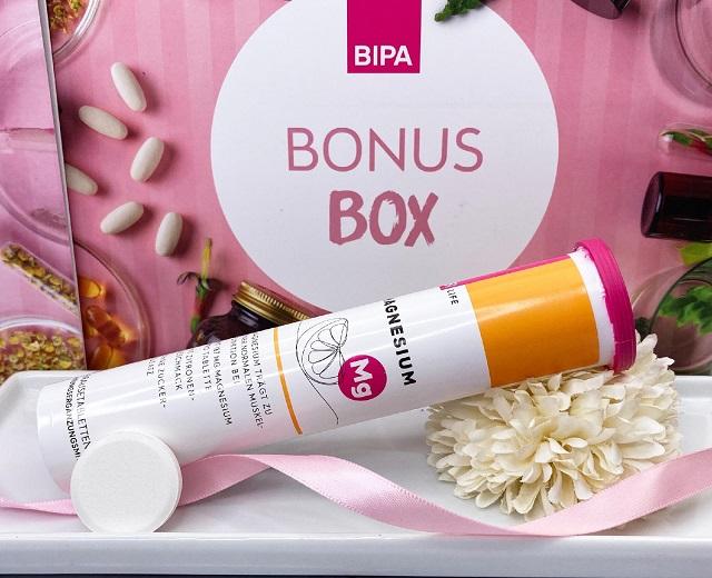 Bipa Bonusbox September 2021 Unboxing - Bi Life Magnesium Brausetabletten