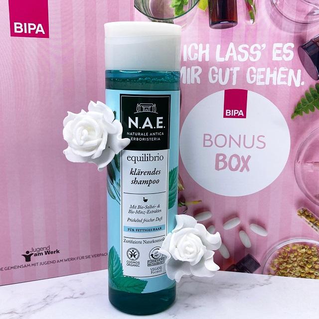Bipa Bonusbox September 2021 Unboxing - NAE Equilibrio Shampoo