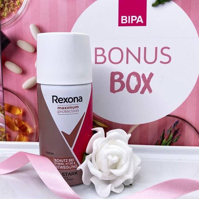 Bipa Bonusbox September 2021 Unboxing - Rexona Deo Spray Maximum Protection